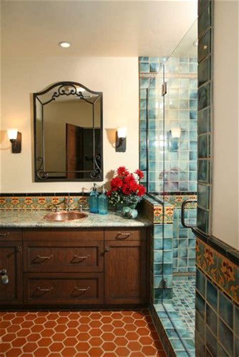 spanish bathroom ideas  pinterest spanish