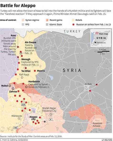 syria on map us russia ceasefire deal in syria business insider