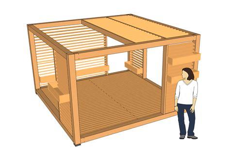 Construire Une Tonnelle En Bois 4799 by Tonnelle En Bois Design Pergolas Et Tonnelles 224 Faire