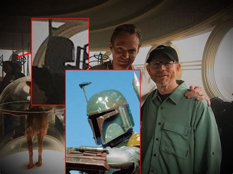 ron howard kessel did ron howard share an image of boba fett in the han solo