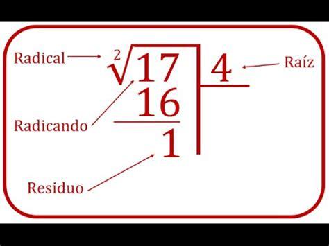 como se hace raiz cuadrada ra 237 z cuadrada elementos y explicaci 243 n paso a paso