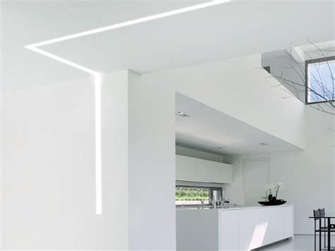 controsoffitto illuminazione illuminare il controsoffitto in cartongesso idee moderne