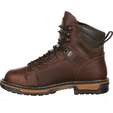 lace to toe work boots rocky ironclad waterproof lace to toe work boots 5703