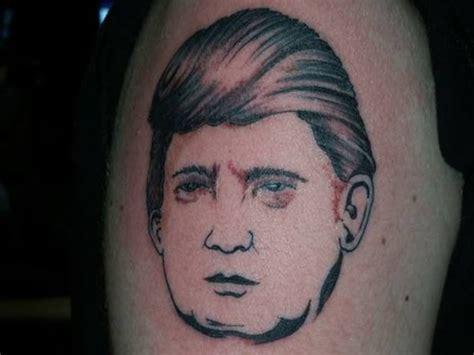 tattoo of us donald trump 12 people with donald trump tattoos wtf tattoos