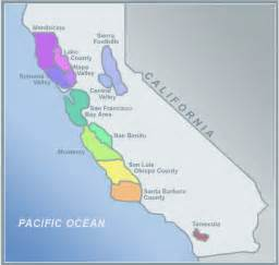 alcoholbeverage map of california wine regions