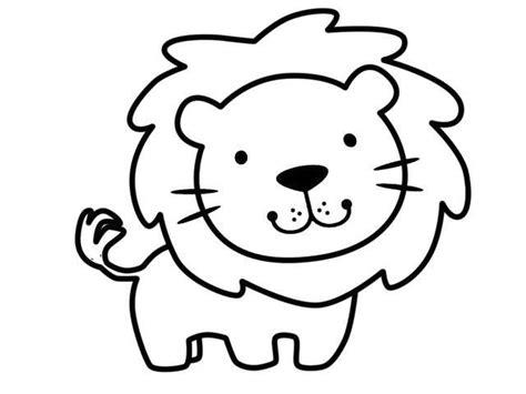dibujos para colorear de leones actividades infantiles y dibujos de animales fotos dise 241 os para imprimir y