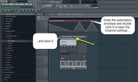 volume envelope pattern fl studio fl studio quick tip saving automation clips