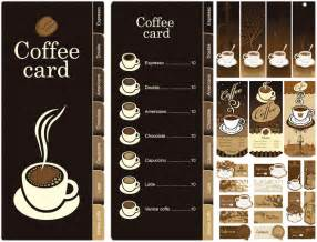 coffee shop menu template free menu vector graphics