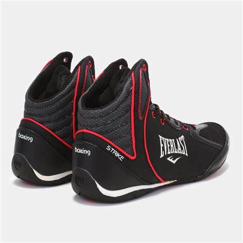 everlast shoes shop black everlast strike boxing shoe for mens by