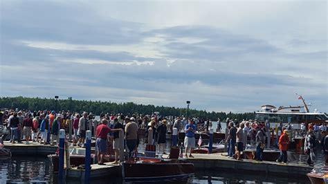 hessel antique boat show 2017 les cheneaux antique wooden boat show hessel mi travel