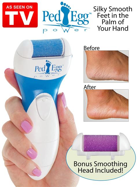 ped egg power dry foot smoother from collections etc ped egg power review
