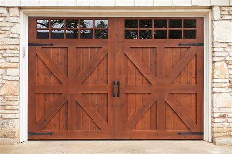 Farmhouse Garage Doors Custom Garage Door Farmhouse Garage By Sikkens 174 Proluxe Wood Finishes