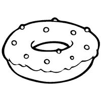 sprinkle donut coloring page donut with sprinkles 187 coloring pages 187 surfnetkids