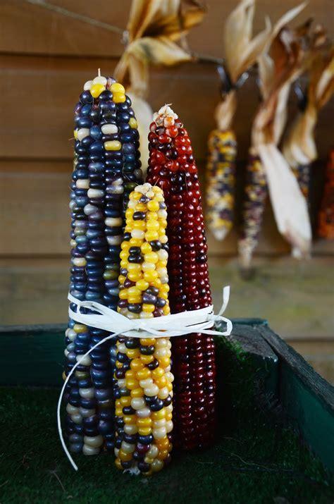 p s diy indian corn decorations