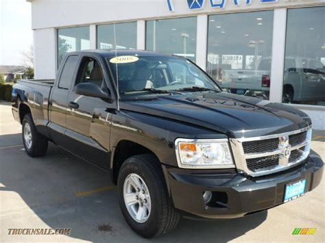 dodge dakota 2008 for sale 2008 dodge dakota slt extended cab 4x4 in brilliant black