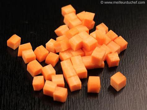 appareil pour couper les legumes en cube tailler en mirepoix cubes 1 cm de c 244 t 233 s la recette