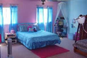 girls bedroom ideas blue and pink with white tulle decor blue bedroom decorating ideas for teenage girls