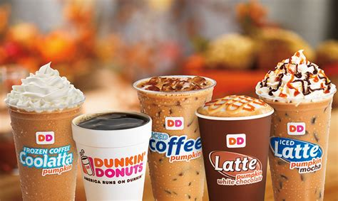 Dunkin Donuts Pumpkin Coffee by News Dunkin Donuts Fall 2013 Featured Pumpkin Menu