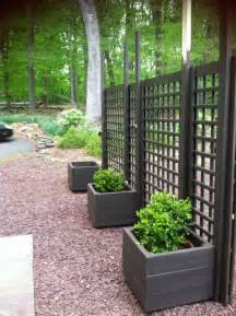 trellis privacy fence ideas trellis diy movable privacy screen brattle fence
