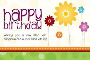 birthday card quotes happy birthday quotes free large images