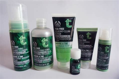 Pembersih Muka Shop may s skincare review the shop tea tree collection