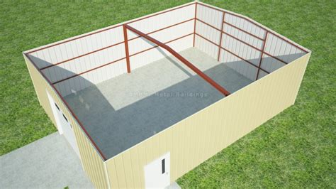 Workshop Floor Plans by 30 X 40 Clearspan For Sale From Mbmi