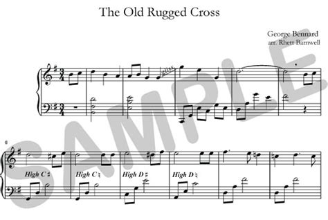 The Rugged Cross Pdf by Sylvia Woods Harp Center Christian Books Pdfs The