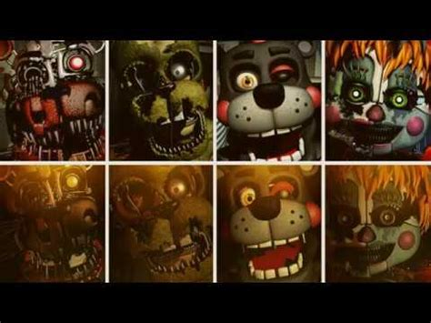 "|fnaf sister location song |""trust me"" all animatronics"