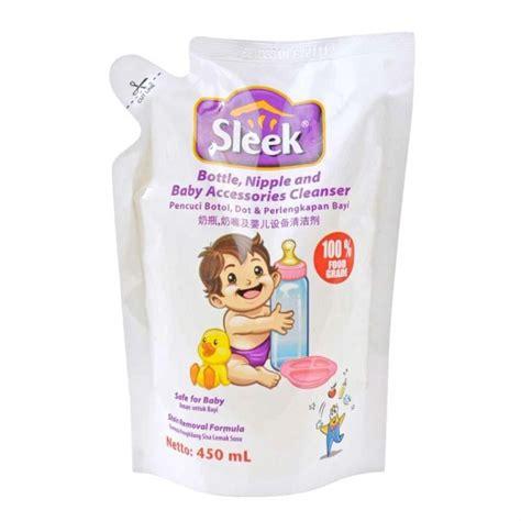 Sleek Cuci Botol Refill 450ml sleek sabun cuci botol n laundry reffil 450ml shopee