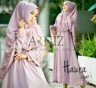 Harga Gamis Merk Arniz solusi til cantik dan modis sesuai syariah gamis set