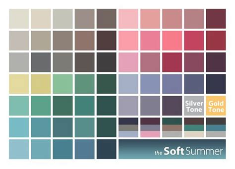 soft summer color palette soft summer color palette florabac