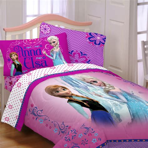 frozen bedding set twin disney s frozen sister love bedding comforter walmart com