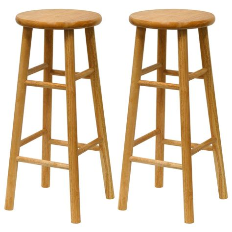 Winsome Bar Stools by Winsome 30 Quot Bar Stools Set Of 2 151024 Kitchen Dining At Sportsman S Guide