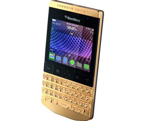 porsche design p 9981 blackberry gold gelanceerd luxesh