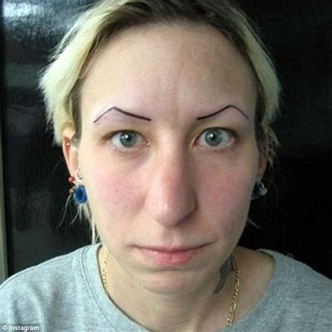 eyeliner tattoo mackay what happens when tattoos go horribly wrong daily mail
