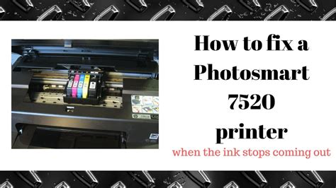 Hp Zu Not by How To Fix A Hp Photosmart Printer 7520 Not Printing