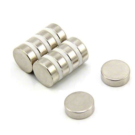 1 Pack Magnet Hitam 15 Mm 15mm dia x 5mm thick n42 neodymium magnet 4 5kg pull first4magnets