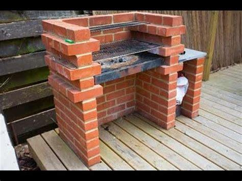 diy backyard brick barbecue youtube