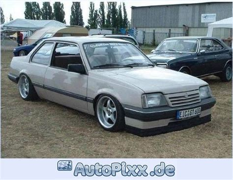 opel ascona tuning opel ascona review and photos