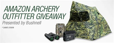 Free Compound Bow Giveaway - amazon archery outfitter giveaway