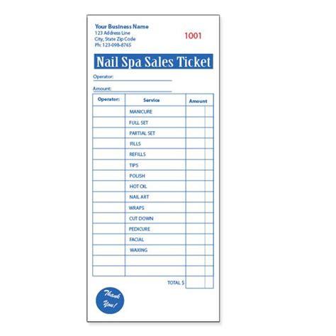 hair salon receipt template product details designsnprint