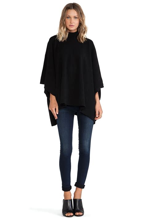 Theories Of Fashion Costume And Fashion History by Theory Florencia Poncho In Black Lyst
