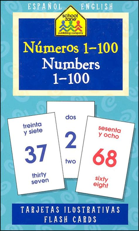 spanish numbers 1 100 printable flash cards numeros 1 100 numbers 1 100 flash cards 035320 details