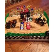 Cool Homemade Monster Jam Birthday Cake