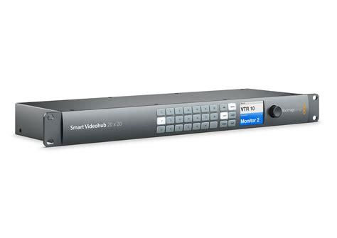 Blackmagic Design Smart Videohub 20 X 20 6g Sdi blackmagic design smart videohub 20x20 allied broadcast
