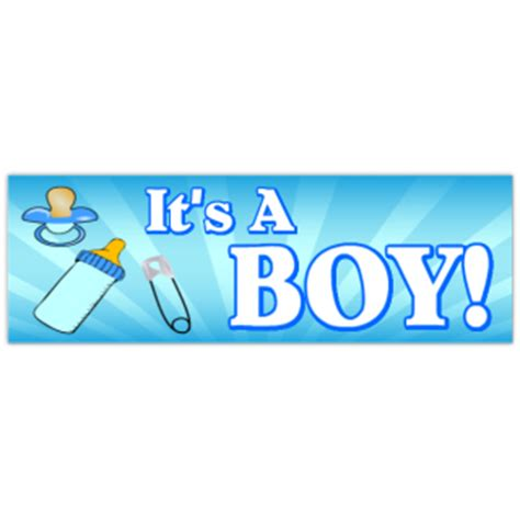 Its A Banners It S A Boy Banner 3 Birthday Banner Anniversary Banners