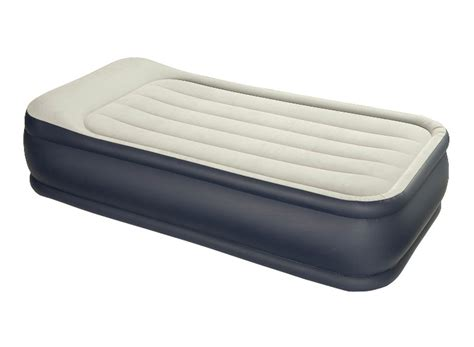 single air bed intex single size deluxe pillow rest air bed mattress ebay