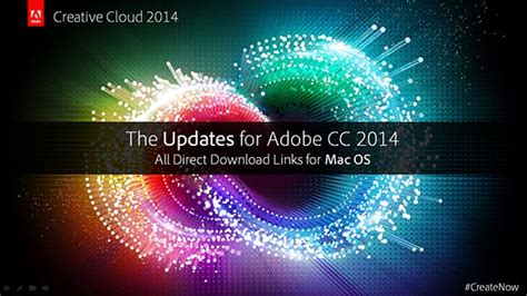 all adobe cc 2014 updates the direct links for