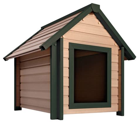 small outdoor dog house ecoflex outdoor dog house small contemporary dog houses by pinta international