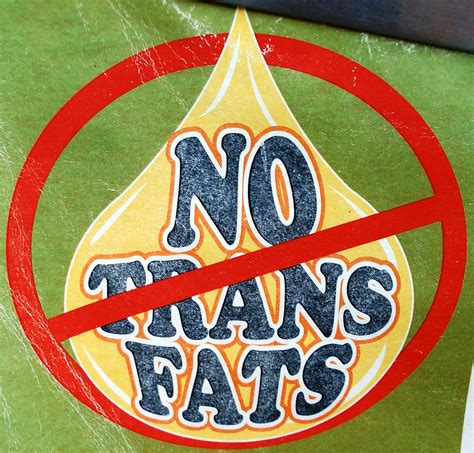 California Bans Transfat by California Ban Trans Improvement Bodies